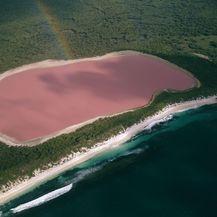 Ružičasto jezero u Australiji - 5