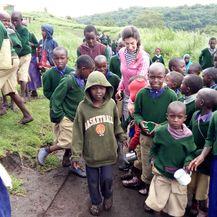 Antonia često odlazi u Afriku zbog humanitarnog posla
