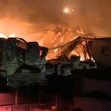 Veliki požar u Rijeci (Foto: Dnevnik.hr)