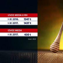 Jedna staklenka meda u izvoz, tri i pol u uvoz (Foto: Dnevnik.hr) - 2