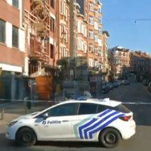 Dio Bruuxellesa pod blokadom (Foto: Screenshot Reuters)