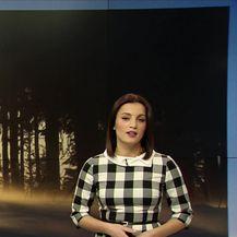 Vremenska prognoza Damjane Ćurkov (Video: Dnevnik Nove TV)