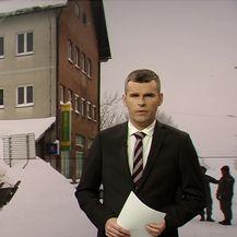Snijeg i vjetar stvaraju probleme diljem Hrvatske (Video: Vijesti u 17h)