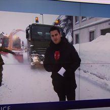 Domagoj Mikić uživo o problemima koje je izazvao snijeg (Video: Vijesti u 17)