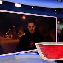 Domagoj Mikić uživo s Draganom Lozančićem (Video: Dnevnik Nove TV)