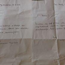 Pismo koje je obitelji napisao Slobodan Praljak (Foto: Dnevnik.hr) - 2