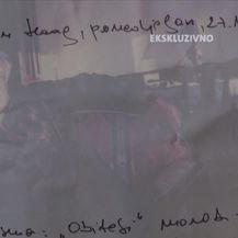 Slobodan Praljak iz Haaga poslao dva pisma (Video: Dnevnik Nove TV)