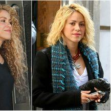 Shakira krajem prosinca s dugom kosom i novom frizurom