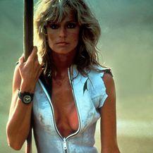 Farrah Fawcett na jednom od snimanja 1970-ih