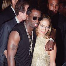 Jennifer Lopez i Diddy (Foto: AFP)