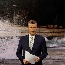 Jugo stvara probleme u prometu (Video: Vijesti u 17 h)