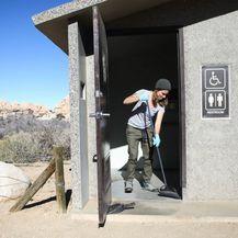 Neki nacionalni parkovi u SAD-u su zatvoreni zbog premalo osoblja koje ne radi zbog blokade. Nacionalni park Joshua Tree u Kaliforniji (Foto: AFP) - 4