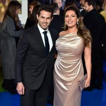 Kelly Brook i Jeremy Parisi (Foto: AFP)