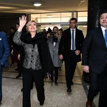Bandić primio predsjednicu Grabar-Kitarović u Gradskoj upravi (Foto: Josip Regovic/PIXSELL)