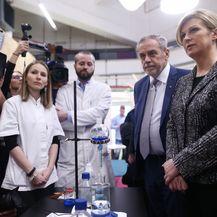 Predsjednica Grabar-Kitarović obišla Zagrebački inovacijski centar (Foto: Igor Soban/PIXSELL)