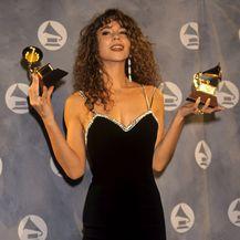 Mariah Carey prvi put na dodjeli nagrada Grammy 1991. godine