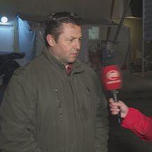 Goran Jančo, predsjednik Saveza uzgajivača svinja, i Marina Bešić Đukarić (Foto: Dnevnik.hr)
