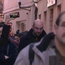 U Zadru održan prosvjed zbog izlaska na slobodu Darka Kovačevića Daruvarca (Video: Dnevnik Nove TV)