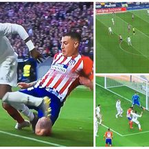 Tri sporne situacije s derbija Atletica i Reala (Foto: Twitter/Atletico)
