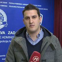 Domagoj Mikić razgovara s Načelnikom PU Zadarske Antonnom Dražinom o sigurnosti građana u Zadru (Foto: Dnevnik.hr) - 2