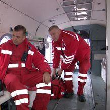 Ekipa hitne pomoći s Cresa (Foto: Dnevnik.hr)