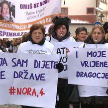 Prosvjed za spinrazu (Foto: Dnevnik.hr) - 1