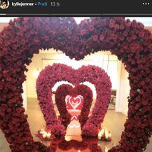 Valentinovo Kylie Jenner i Travisa Scotta (Foto: Instagram)