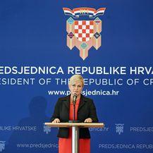 Predsjednica Kolinda Grabar-Kitarović (Foto: Sanjin Strukic/PIXSELL))