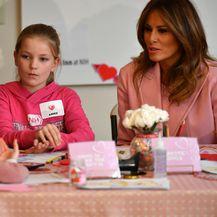 Melania Trump provela je Valentinovo u Nacionalnom institutu zdravlja - 5