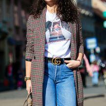Street style zagrebačke 'lavice' u majici s prizorom i rečenicom iz filma 'Prljavi ples'