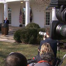 Predsjednik Donald Trump na press konferenciji (Foto: Dnevnik.hr) - 1