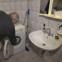 Stara mašina za pranje rublja (Foto: Dnevnik.hr)