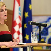 Predsjednica Kolinda Grabar-Kitarović (Foto: Marko Lukunic/PIXSELL)