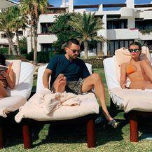Scott Disick, Kourtney Kardashian i Sofia Richie (Foto: Instagram)