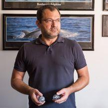 Voditelj projekta Draško Holcer biolog specijaliziran za ekologiju i zaštitu velikih morskih kralješnjaka (Foto: Hocler)