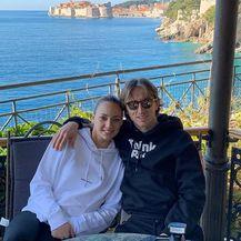 Luka i Vanja Modrić (Foto: Instagram)