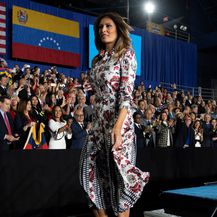 Melania u haljini dizajnerice Gabriele Hearst