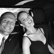 Rosie Huntington-Whiteley i Jason Statham (Foto: Instagram)
