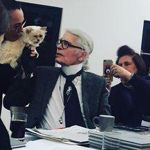Karl Lagerfeld (Foto: Instagram)