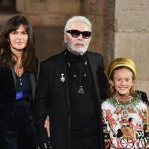 Virginie Viard i Karl Lagerfeld