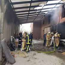 Požar u radionici (Foto: Damir Nemec)