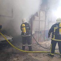 Eksplozija u limarskoj radionici (Foto: Damir Nemec)