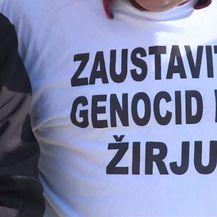 Prosvjed otočana s Kaprija i Žirja (Foto: Dnevnik.hr) - 2