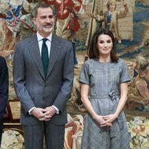 Kraljica Letizia u laskavoj haljini brenda Massimo Dutti - 7