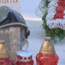 Grob vatrogasca koji je poginuo na Kornatima (Foto: Dnevnik.hr)