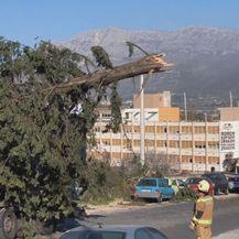 Posljedice bure (Foto: Dnevnik.hr)