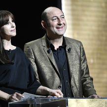 Monica Bellucci i Kad Merad tijekom dodjele