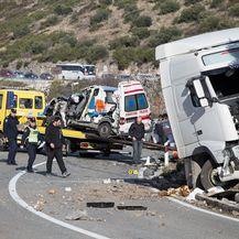 Prometna nesreća, Banići (Foto: Grgo Jelavic/PIXSELL)