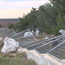 Traje sanacija šteta od orkanske bure (Foto: Dnevnik.hr) - 1