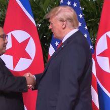 Kim Jong-un i Donald Trump (Foto: Dnevnik.hr)
